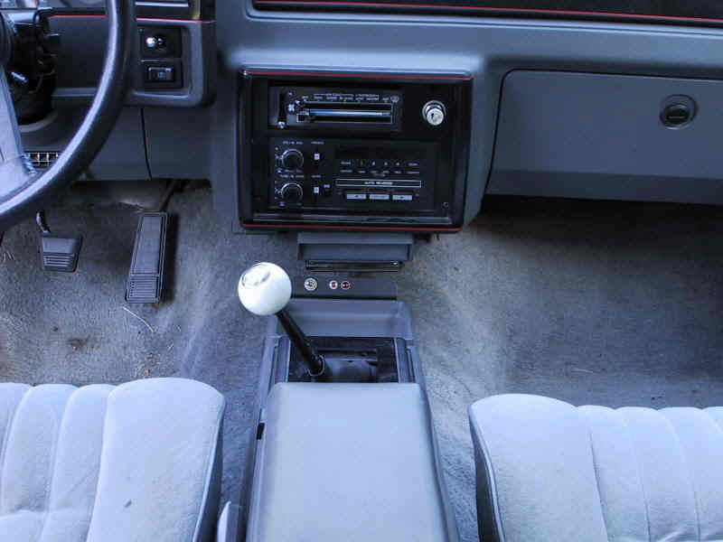 Shifter As Installed In Monte Carlo Full Size